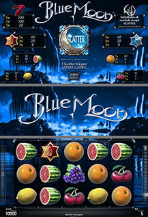 Blue Moon - game screens
