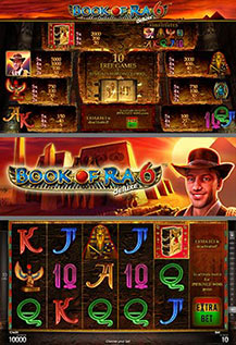 Book of Ra Deluxe 6 - game screens