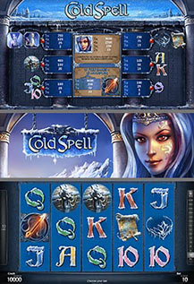 Cold Spell - game screens