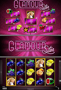 Glamour Star - game screens