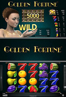 Golden Fortune - game screens