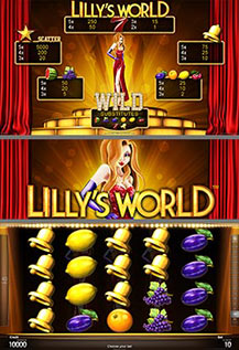 Lilly's World - game screens