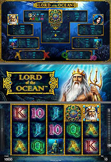 Lord of the Ocean - game screens