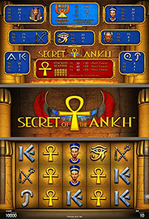 Secret of the Ankh - game screens