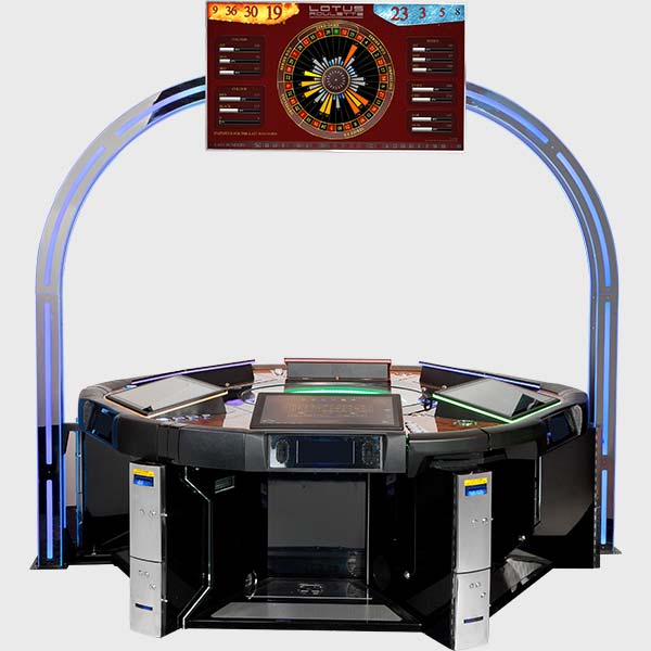 Lotus Roulette™ PRO 6 Player with Lightgate